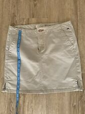 TOMMY  hilfiger Beige Denim skirt Size 10
