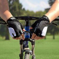 Bicycle Gloves Half Finger Gel Anti-slip MTB Road Bike Cycling Mitten Fingerless