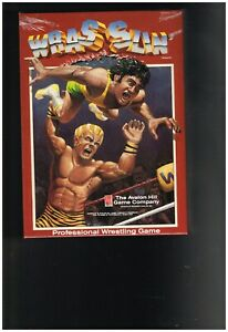 Avalon Hill 1990 : WRASSLIN' - Professional Wrestling Strategy Card Game Mint