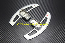 For Mercedes AMG 63 C63 E63 S63 CL63 Silver Aluminum Shifter Paddles Paddle