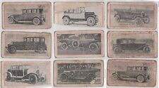 (K21-5) 1930 GB Goblias cards 32 motorcycle and cars (poor condition)