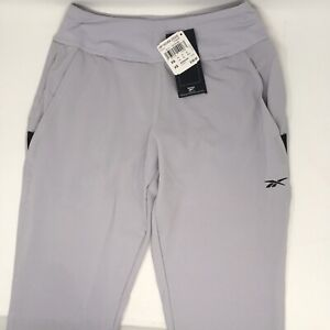 Reebok Women's United by Fitness Woven Jogger, Sterling Grey, X-Small