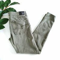 American Eagle AEO Sateen X4 Jegging size 6
