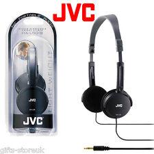 JVC HA-L50 NEGRO Plegable Ligero Con estilo Auriculares Estéreo Nuevo