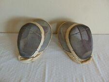 2 Castello Fencing Helmets