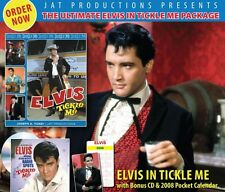 Elvis Presley - Elvis In Tickle Me (Book, CD & Calendar) - 2007 - New **********