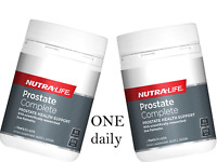 2 x 60 capsules NUTRALIFE Prostate Complete Saw Palmetto 4000 with Lycopene