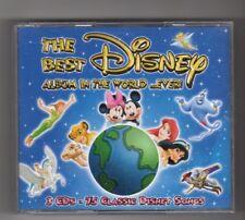 (IQ846) The Best Disney Album In The World .. Ever! - 2006 CD set