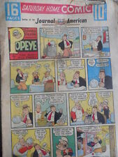 Saturday Home Comic of Jounal American 26-02-1956 - Popeye Mandrake [G393A]