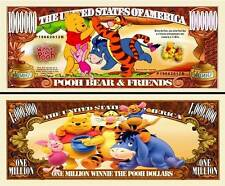 USA 1 Million Dollar banknote 'Winnie the Pooh' (Disney) - NEW - UNC & CRISP
