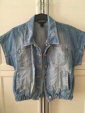 Mango Collection Jeans Jacke Blouson Denim Gr. L Top
