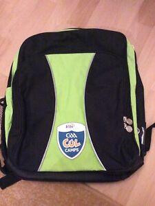 GAA IRELAND CUL CAMP Black/Green Sports Bag