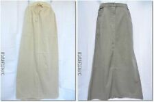 Full Length Cotton Straight, Pencil Skirts for Women
