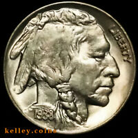 1938-D Buffalo Nickel GEM BU