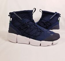 5eaad1907b3 Nike Air Footscape Mid Utility Tokyo Obsidian Blue NSW 924455-400 Men Size  10.5