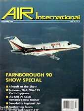 Air International 1990 September F-117,Embraer CBA123,IAR-99,Canadair CRJ