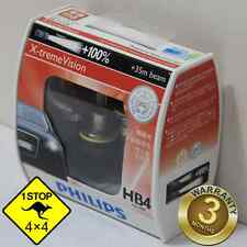 A Pair of Genuine Philips 9006 HB4 12V 55W 4300K Crystal Vision Bulbs