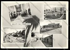 Cagliari Carbonia cartolina fotografica EMIOTTO1041 SZF