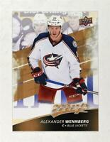 2017-18 Upper Deck MVP Base #6 Alexander Wennberg - Columbus Blue Jackets