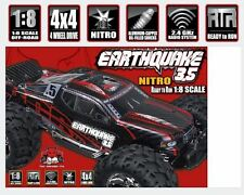 Redcat Racing Earthquake Black/Red 3.5 1/8 Scale Nitro Monster Truck RC Car