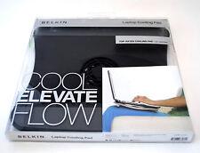Belkin Laptop USB Cooling Fan Pad F5L001 Stand BLACK lap cool notebook netbook