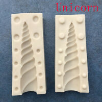 3D Unicorn Silicone Mold Baking Tool Baby Birthday Cake Fondant Sugarcraft Mould