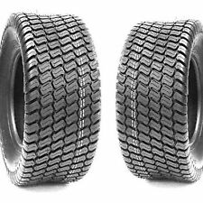 (2) Turf Lawn Mower 20X12.00-10 Tires 20X1200-10 20-12-10 4Ply Tires Grassmaster