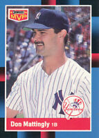 Don Mattingly 1988 Donruss - MVP #BC-21 New York Yankees Card