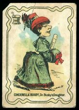 Cinderella Busby Dr Busbys Daughter Matching Game Card Victorian Lady Red Hat