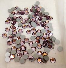 Drag Queen Size 34 Light Amethyst Rhinestones- 1Gross Flat-Back-Austrian Stones