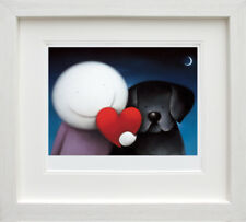 Doug Hyde We Share Love Framed Limited Edition Giclee