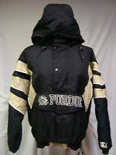 PURDUE BOILERMAKERS Pullover Jacket Front-Pouch-Pocket STARTER  M