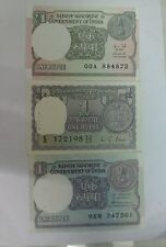 SET OF 3 different 1 rs note UNC CONDITION