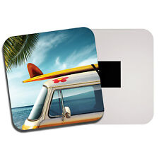 Surf Bus Fridge Magnet - Van Surfer Surfing Summer Holiday Cool Fun Gift #8200