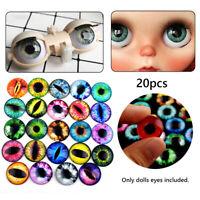 Accessoires Intéressant Time Stone Les yeux de poupée de verre Artisanat Yeux