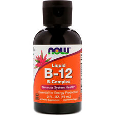 Now Foods, Liquid B-12, B-Complex, 2 fl oz (60 ml)