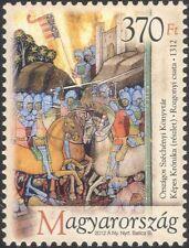 Hungría 2012 rozgony/batallas/Soldados Ejército Militar///Caballos/castillos/guerra 1v n45735