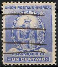 Peru 1896-1900 SG#335, 1c Ultramarine, Atahualpa Used #E1251