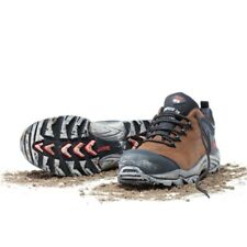 New - Mack Kelpie Safety Shoes - Rocky Brown