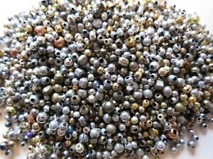 200g SPACER BEADS SELECTION CRAFTS JEWELLERY MAKING BEADING