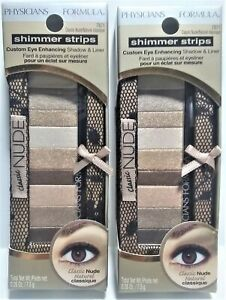 Physicians Formula Shimmer Strips Custom Eye Enhancing Shadow & Liner 7871 Nude
