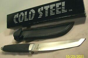 1990's~COLD STEEL~UNUSED~MASTER OPS TANTO~SAN MAI #0413~KNIFE w/SHEATH & BOX~NIB