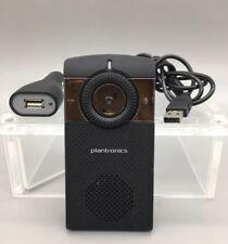 Plantronics K100 Universal Bluetooth Car Kit Speaker FM Transmitter TESTED A18