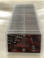50 State Quarters Silver Proof Set Plastic Lens NO COINS