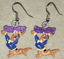 SCOOBY DOO EARRINGS  Surgical New Crime Solving Dog Pesky Kids (A)