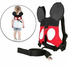 Mickey Child Harness & Lead Toddler Anti Lost Safety Harness Mouse Ears ages 1-5