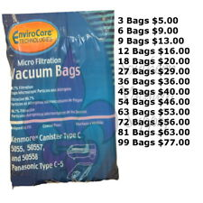 KENMORE TYPE C VACUUM BAGS FOR MODELS 5055, 50557 AND 50588