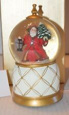 Mr. Christmas Valerie Parr Hill Musical Snowglobe Plays THE FIRST NOEL NIB