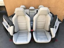 ✔MERCEDES W204 C63 AMG COMPLETE SPORT LEATHER SEAT SEATS CUSHION DOOR PANELS OEM