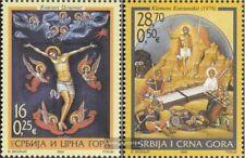 Jugoslawien 3190-3191 (kompl.Ausg.) postfrisch 2004 Ostern